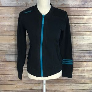 Vintage Adidas Zip-Up Long Sleeve Size Small